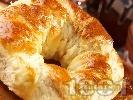 Рецепта Колачета (гевреци) за коледа (с мая) на фурна